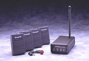 T17 Transmitter and R7 Receivers are field-tunable to 10 wideband channels.